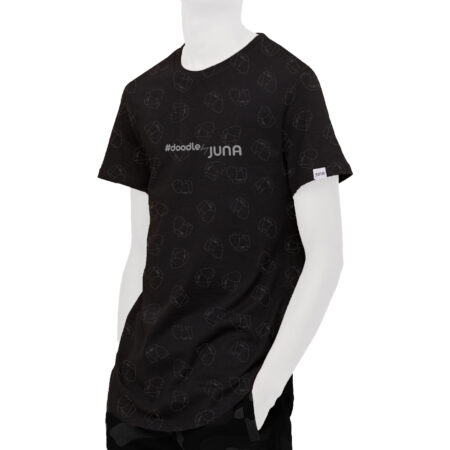 JUNA - T-SHIRT 1001 (BLACK)